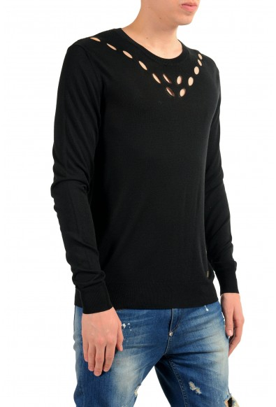 Versace Collection Men's Crewneck Black Sweater: Picture 2