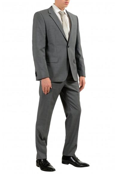 "Hugo Boss ""Halsey2/Merrill2"" Men's 100% Wool Gray Two Button Suit: Picture 2"