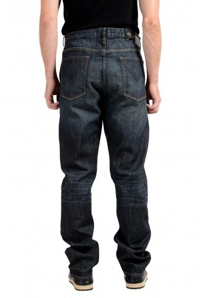 John Varvatos Star USA Bowery Men's Blue Slim Straight Leg Jeans: Picture 2