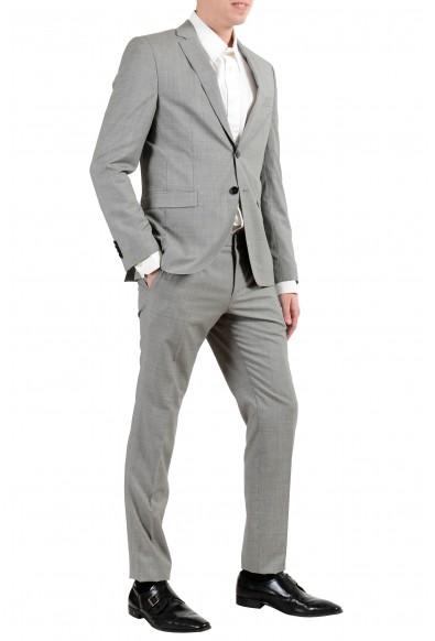 "Hugo Boss ""Reymond/Wenten"" Men's 100% Wool Extra Slim Two Button Suit: Picture 2"