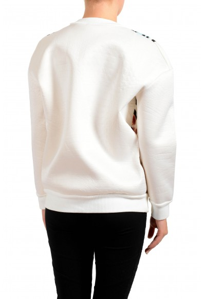 Just Cavalli Women's Multi-Color Crewneck Sweater Sweatshirt: Picture 2