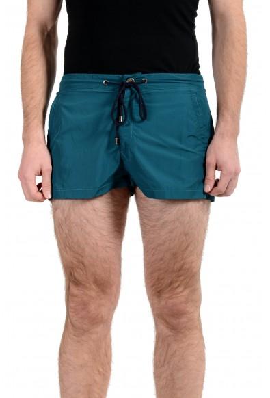 Versace Collection Men's Blue Swim Board Shorts