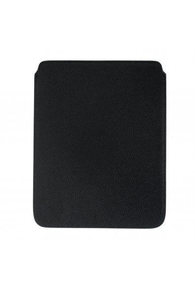 Versace Collection Black Textured Leather Cover Case: Picture 2
