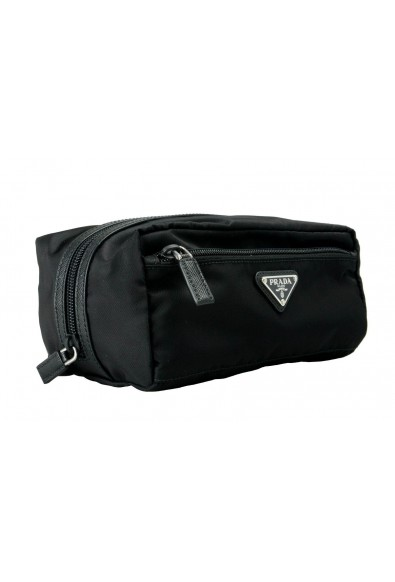 Prada Black Unisex Cosmetic Bag: Picture 2