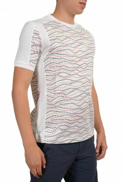 Moncler Gamme Bleu Men's Multi-Color Crewneck T-Shirt: Picture 2