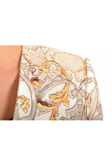 Just Cavalli Women's Multi-Color Floral Print One Button Blazer : Picture 2
