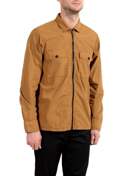 """Hugo Boss """"Lovel-zip"""" Men's Brown Full Zip Windbreaker Jacket : Picture 2"""