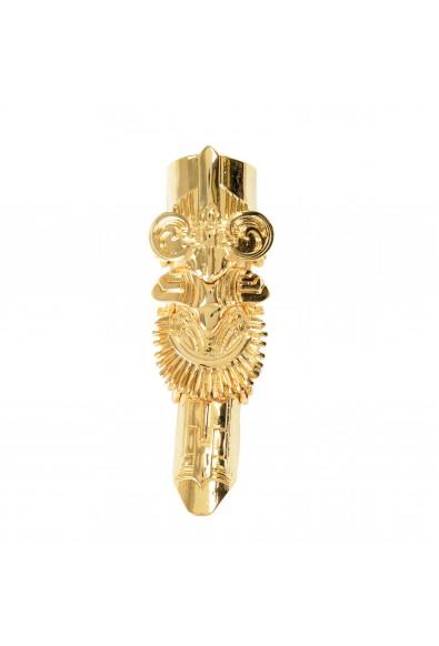 Just Cavalli Unisex Gold Metal Ring