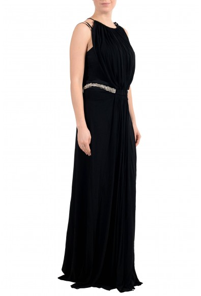 Roberto Cavalli Women's Black Embellished Evening Dress: Picture 2