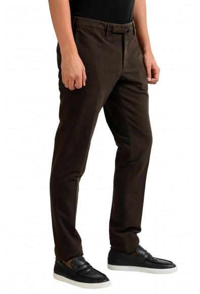 "Slowear Incotex ""Skin Fit"" Men's Dark Brown Casual Pants: Picture 2"