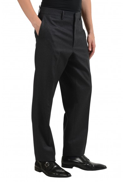 Versace Men's 100% Wool Gray Dress Pants: Picture 2
