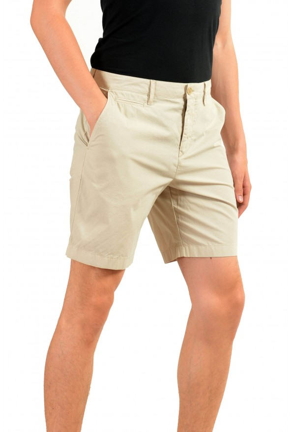 Burberry Men's Beige Casual Shorts: Picture 2