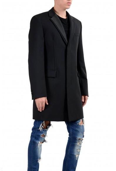 "Hugo Boss ""Nabor"" Men's Wool Mohair Black Three Button Coat: Picture 2"