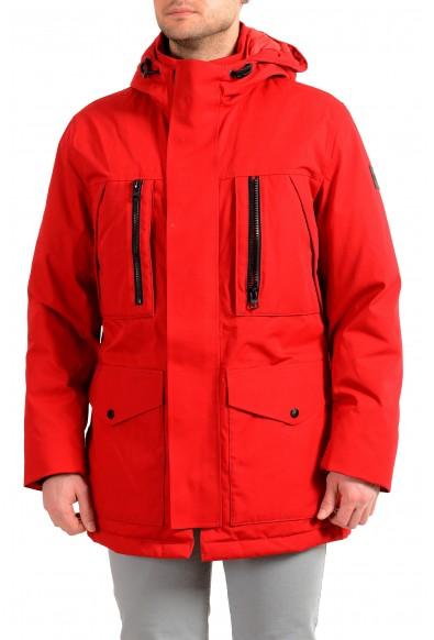 "Hugo Boss Men's ""Donatis"" Hooded Long Down Parka Jacket"