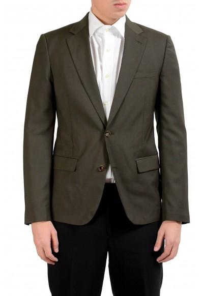 """Maison Martin Margiela """"14"""" 100% Wool Green Men's Blazer Sport Coat"""