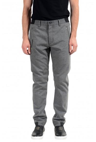 """Hugo Boss """"Lautner2-W"""" Men's Slim Fit Gray Casual Pants"""