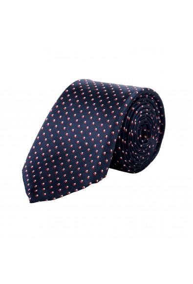 Hugo Boss Men's Multi-Color Geometric Print 100% Silk Tie