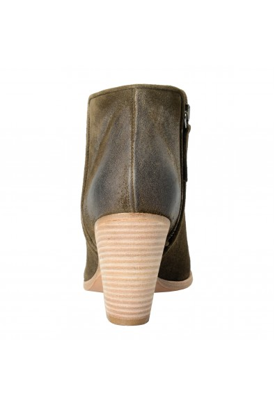 Giuseppe Zanotti Design Women's Leather Khakis Daddy Ankle Boots Shoes: Picture 2