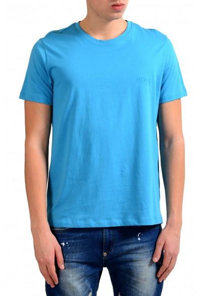 """Hugo Boss """"Shirt SSRN 24"""" Men's Blue Crewneck T-Shirt"""