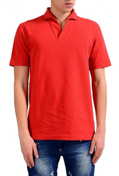Malo Men's Red Short Sleeve Polo Shirt