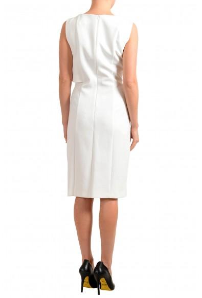 "Hugo Boss Women's ""Dantia"" White Sleeveless Pencil Dress: Picture 2"