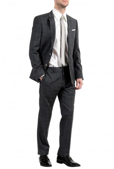 "Hugo Boss ""Hutson5/Gander2"" Men's 100% Wool Slim Gray Two Button Suit: Picture 2"