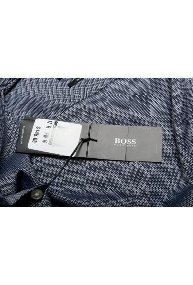 Hugo Boss Men's Marley US Sharp Fit Striped Long Sleeve Dress Shirt: Picture 2