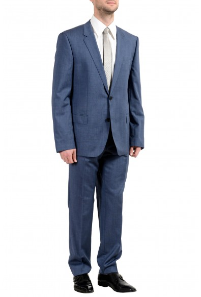 """Hugo Boss """"Henry/Griffin182"""" Men's 100% Wool Blue Slim Two Button Suit: Picture 2"""