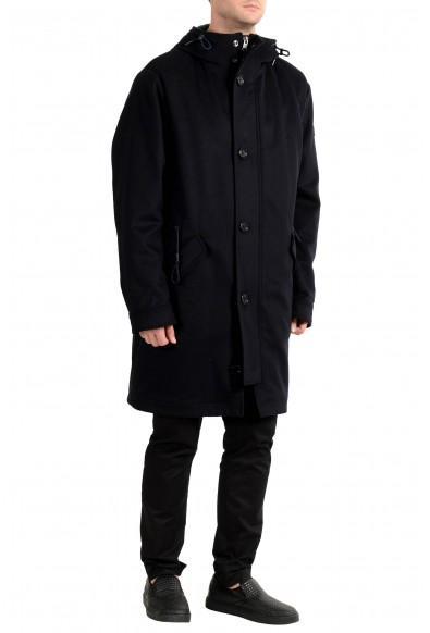 """Hugo Boss """"Crispin"""" Men's Wool Cashmere Hooded Lined Coat : Picture 2"""