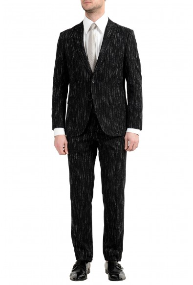 "Hugo Boss ""Nestro3/Byte1"" Men's Slim Striped Two Button Suit"