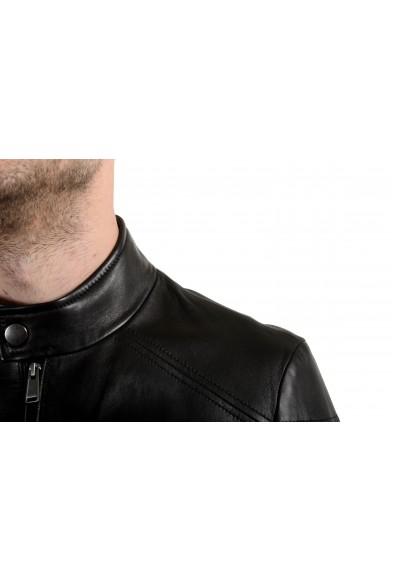 """Hugo Boss """"Nocan"""" Men's 100% Leather Black Full Zip Jacket: Picture 2"""