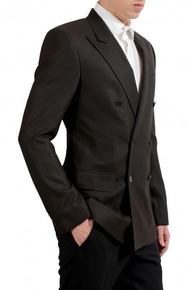 """Dolce & Gabbana """"Sicilia"""" Men's Silk Wool Brown Blazer Sport Coat: Picture 2"""