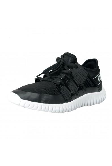 "Plein Sport ""Robinson"" Black Runner Fashion Sneakers Shoes"