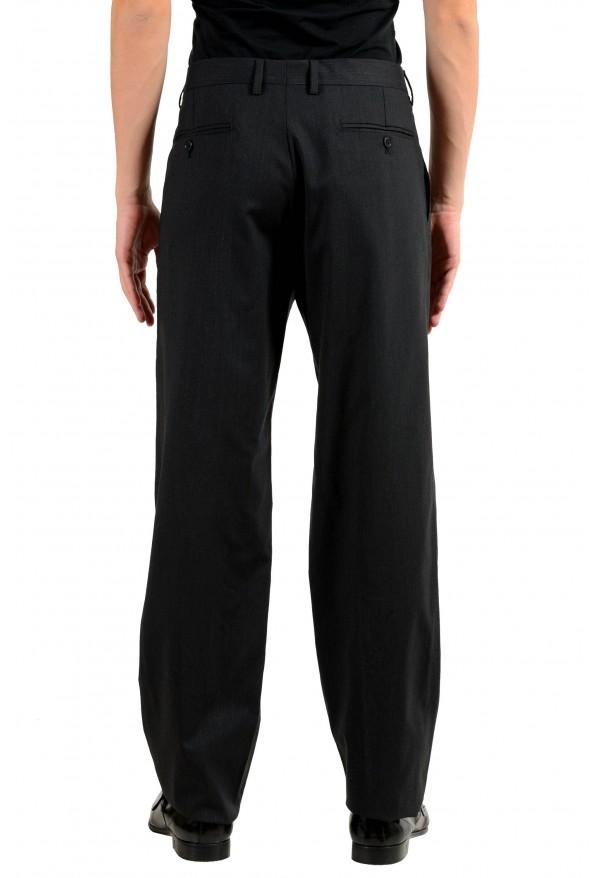 Dolce & Gabbana Men's Wool Charcoal Dress Pants: Picture 3