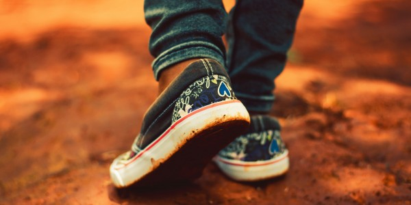 Casual style fashionable sneakers