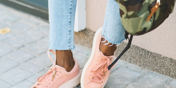 Casual, everyday and athletic sneakers
